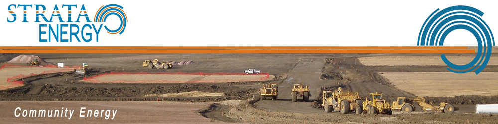 Earthworks at Ross Project, Wyoming
